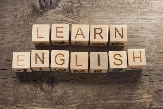 blocks-saying-learn-english